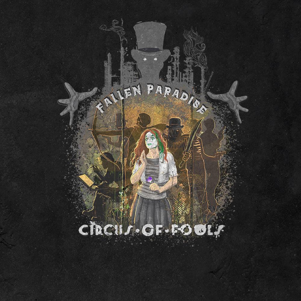 Circus of Fools - Fallen Paradise (Shirt) 1