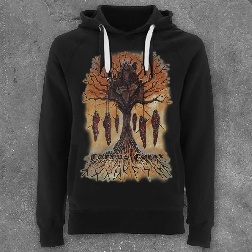 Corvus Corax - Yggdrasill (Hoodie / Zipper) 1