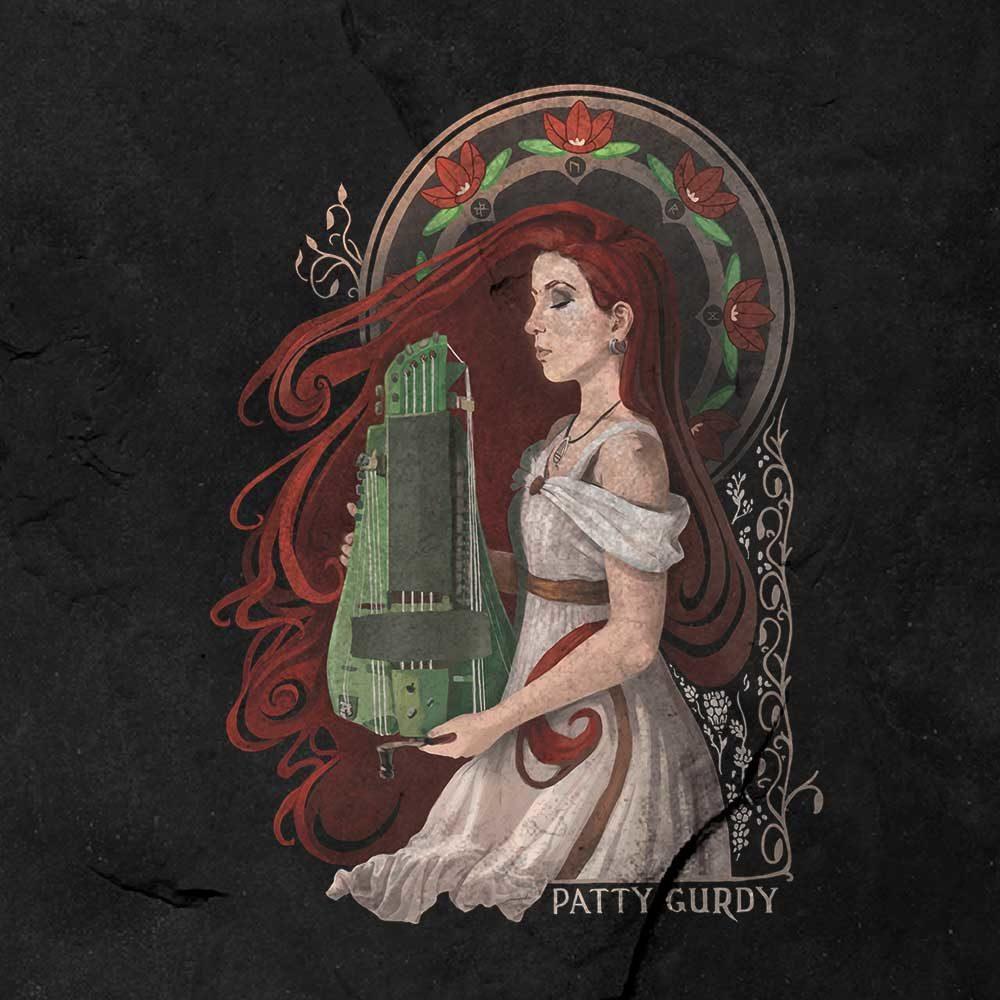 Patty Gurdy - Pest&Power #2 - Shirt 1