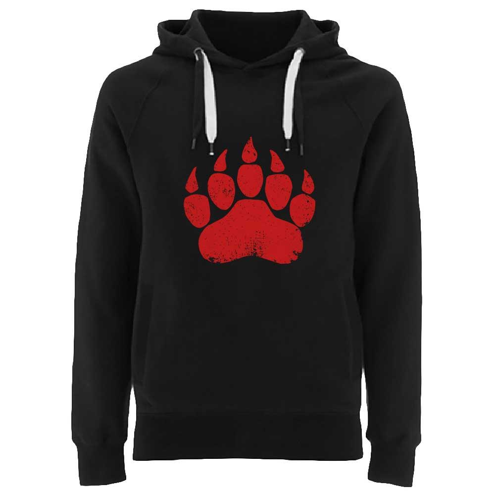 KUMA - Red Paw (Hoodie) 1