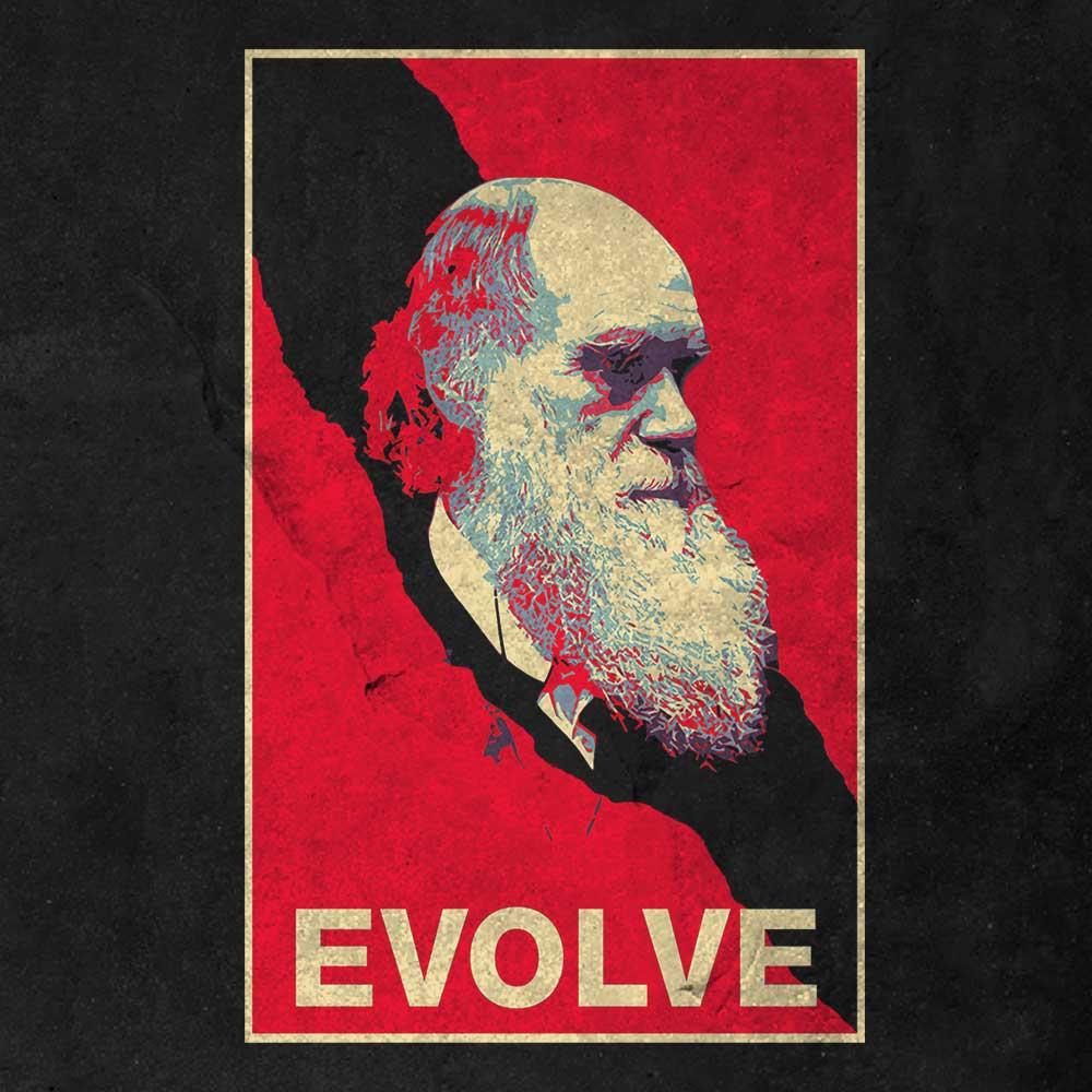 Darwin - Evolve (Shirt) 1